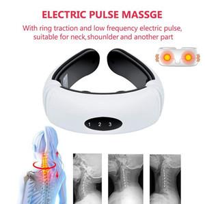indietro impulso elettrico e del collo massaggiatore lontano infrarosso riscaldamento sollievo dal dolore rilassamento sanitario strumento