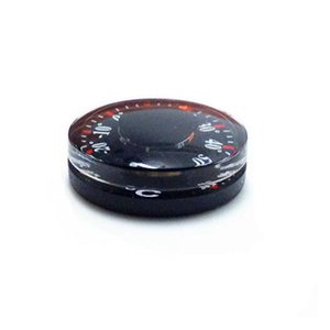 Termometro digitale Diametro 20mm Plastica Round Mini Termometro mini spirito Circolare Termografo Celsius hydrothermograph