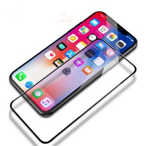 واقي شاشة صلب مقاوم للكسر بحماية زجاجية لهواتف ايفون XS MAX XR X 8 7 بلس 6 6S Plus