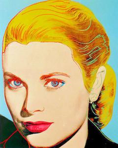 Grace Kelly Ev Dekorasyonu İnşaat Müteahhitleri / Açık Tuval Wall Art Canvas Resimler 200.630 Boyama HD Baskı Yağı Boyama Andy Warhol Sanat