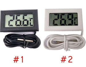 LCD Mini termometro digitale preciso Digital Temp temperatura dello strumento del sensore impermeabile design analizzatori Temp Meter DHB494