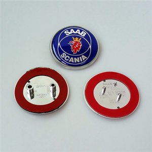 Coches stying Moda Pin de coche de Saab 9-3 2003-2010 Vehículos 68mm de diámetro emblemas de coches para otros modelos de Saab