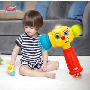 Bambino giocattoli bambino Giocare con martello giocattolo con musicali Luci giocattoli educativi del bambino Migliorare il funzionamento Capacità 12 mesi +