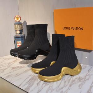 последние 22 сапоги Женская обувь Марка половина ботильоны Леди Designerss натуральная кожа платье сапоги повседневная кроссовки спортивная обувь