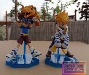 11 cm japanischen anime Figur Digimon Abenteuer Yagami TAICHIAgumon/ISHIDA YAMATOGabumon action figure set Kinder Spielzeug Modell