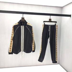 Gucci sportswear de 2020Men Lusso juego de los deportes de los hombres sudaderas chaquetas de la capa de deporte para hombre de la camiseta de la medusa chándal xshfbcl