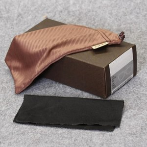 HB glasses case brand sunglasses box sports brown glasses box and bag cloth manual free shipping MOQ=10pcs package