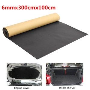 300x100cm Auto Auto Sound Deadening Cotton Automobil Schalldichte Wärmedämmung Pad Schaum-Matten-Teppiche Innen Zubehör