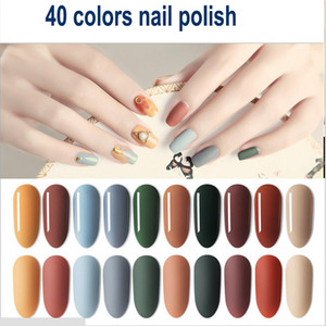 Professional ANNJOLI Nails Gel para mujer Pigment Glitter Gold White Nude 40 colores Nail UV Gel Polish envío gratis