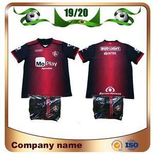 2020 Mexico Club Atlas Kids Kit Soccer Jerseys 19 20 Atlas Home J.BARRAZA L.CABALLERO Soccer Shirt children Football uniform