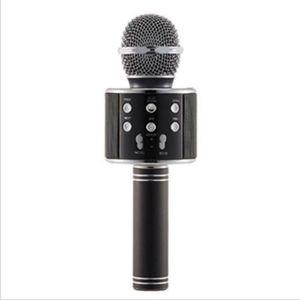WS858 Wireless USB Microfoni Professionisti Condensatori Karaokes Mic Bluetooth Stand Radio Mikrofon Studio Studio Studio di registrazione WS858