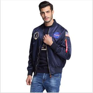 Наружный нового мужская одежда весна осень тонкое НАСА Navy летать куртку людей университетского колледжа американского бомбардировщик куртку полета для мужчин