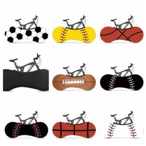 prueba de polvo de la moda de la bicicleta cubierta del deporte Baloncesto Impreso elástico bici de la motocicleta polvo Caso lluvia Prevención Conjunto WY336Q