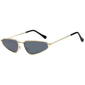 Óculos de sol Para As Mulheres de Luxo Sunglases Moda Feminina Óculos De Sol Da Mulher Moda Óculos de Sol UV 400 Senhoras Pequeno Fino Designer de Óculos De Sol 1K8D1