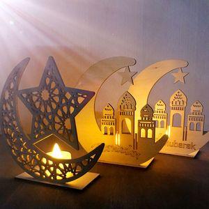 홈 무슬림 이슬람 축제 이벤트 파티 부탁 장식품 Eid 무바라크 장식 매달려 Cyuan 이드 파티 공예 라마단 장식