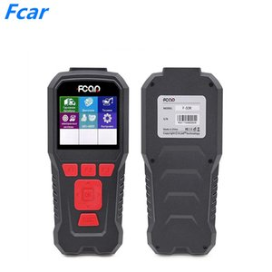 FCAR F-50R Auto Scanner Fault Code Reader for Diesel Heavy Duty Truck F-50R+OBD Cable Diagnostic Tool