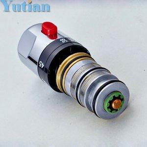 무료 배송 높은 품질의 황동 온도 조절 믹서 카트리지, 온도 조절 믹서 밸브, 온도 센서, YT-5117