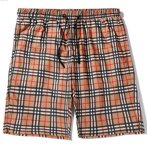 Hombres Playa Junta Shorts traje de baño ocasional del verano de las mujeres flojas Hombres Pantalones cortos Ocio Liner Forro