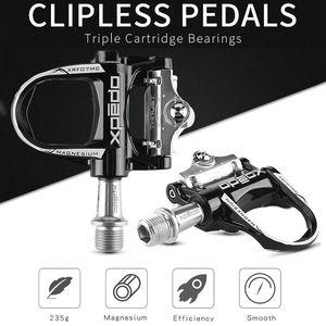 Ultralight in lega di magnesio di strada della bicicletta Clipless Pedali Look Keo Compatibile Pedal Cleats Autobloccante