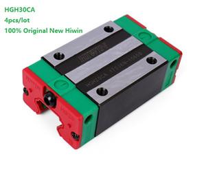 4 adet / grup Orijinal Yeni HIWIN HGH30CA lineer kılavuz rayı CNC router için doğrusal dar bloklar