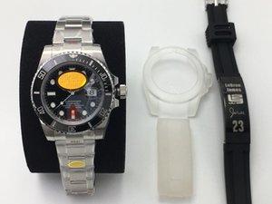 erkek tasarımcı saatler N Fabrikası izle V10 yükseltme sürümü 2836/3135 mekanik hareketi seramik halka 904L çelik üretimi