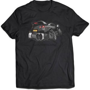 R35 Nissan GTR Black Kookart 3377 Mens