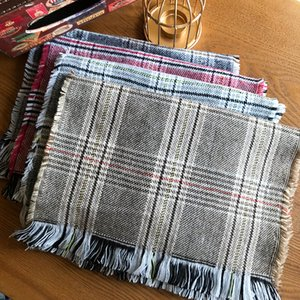 Childrens Plaid Scarf Autumn and Winter New Cashmere Fashion Boys and Girls Warm Scarf