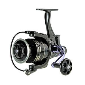 11+1bb Spinning Fishing Reel Gt4:7:1 Right left Handle Dual Brake System Carp Fishing Tackle Carretilha De Pesca