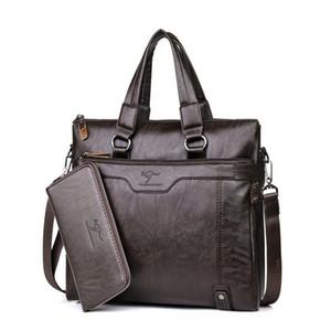Designer-Nuova uomini di marca borse borsa crossbody singoli uomini spalla borse a tracolla valigetta mens borse borsa in pelle di computer geniune