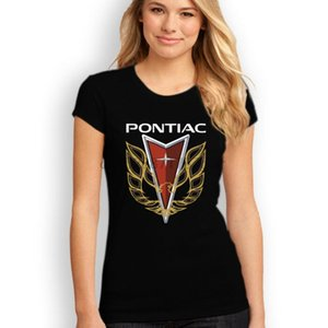 Pontiac Trans Am Firebird Logo T-Shirt Black White