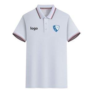 VfL Bochum Football Club Summer Men's Slim Fit Golf Polo T-Shirt Short Sleeve Polo Casual T shirt Sportswear