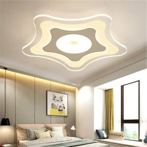 Ultradünnes LED-Deckenleuchte Kinderzimmer Schlafzimmerlampe Seesterne warme Wohnzimmer Lampe kreativer Augenschutz Kindergartenlampen R13