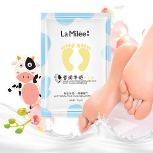 Milk Moisturizing Foot Mask Foot Film Exfoliation Removal Mask Dead Skin Removal Foot Detox for Feet Care