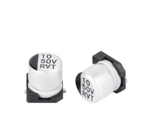 Высокочастотный электролитический конденсатор 10uf/50v низкого сопротивления большой емкости электролитический конденсатор Тома 6.3*5.4 mm