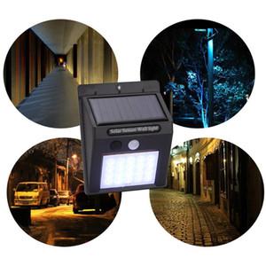 Outdoor hängen 20 led lampen solar hausgarten wand smart motion sensor nacht sicherheit wandleuchten wasserdichte straße led lampe bh1188 tqq