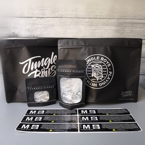 3,5 g de 1 libra Jungle Boys Smell bolsas resistentes a prueba de niños con bolsa Jungleboys se levanta la bolsa flor de la hierba seca Sabores etiqueta