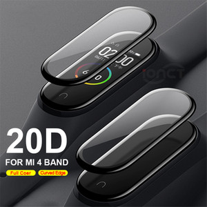 20D Curved Edge Protective for xiaomi mi band 4 Scratch-resistant miband 4 film Full cover HD mi band 4 screen protector