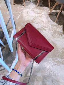 messenger bag famoso marchio di design di lusso signore piccola catena borsa a tracolla per le donne busta libera vendita dimensioni crossbody il trasporto caldo: 20x13cm