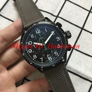 Горячие продажи Paradropper LT Staffel 7 Limited Edition мужские часы 01 774 7661 7734-набор TS Япония кварц 6s10 ткань кожаный ремешок PVD наручные часы
