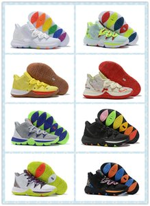 أحذية كرة السلة للرجال Ky Ky 5 الجديدة باللون الأحمر المصمم Mr. Krabs Sandy Cheeks Sports Sneakers