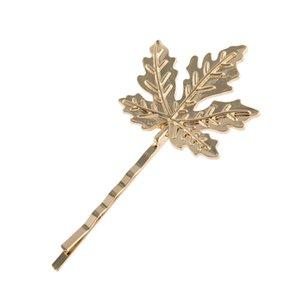 Европейские и США Горячих продаж мода Свадьба Обручальной невеста заколка для волос Пчела Clips Maple Leaf волоса