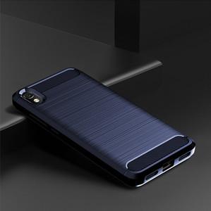 Pour Xiaomi redmi 7A 6A TPU silicone souple redmi K20 PRO Mi 9T affaire de téléphone en fibre de carbone ShockProof Couverture