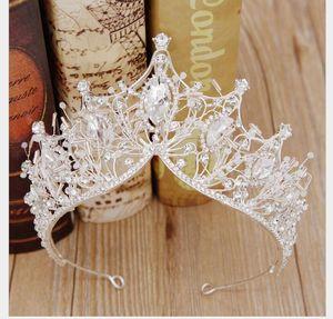 Principessa per bambini Princess Crown Headdress 2019 Children's Lovely Girl Dress Accessori Crown Hair Hoop Ornamenti per capelli di compleanno