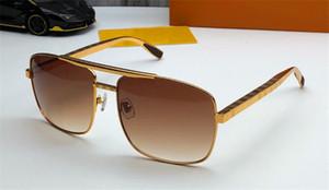 Novos óculos escuros de grife de moda 2342 armação de metal quadrado bestseller popular, estilo punk ao ar livre proteção da lente uv400 de alta qualidade óculos clas