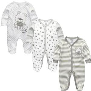 Babykleidung Ropa Bebe Volle Hülse Jungen Infantil Kostüm 2019 Neugeborenen Körper Babyspielanzug Kleidung Kind Kleinkind Pyjamas Vestidos J190514