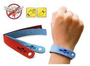 Hots Arrive pour éloigner les moustiques bande Bracelets anti moustiques naturel pur bébé Wristband dragonne Bague main ajuster la taille éliminer mosquitds