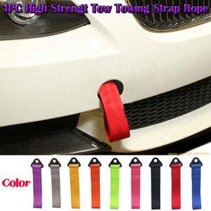 1PC Racing Towing Rope Bumper Trailer Vehículo Auto Racing Recovery Gancho Tow Towing Strap Cuerda de alta resistencia Durable al por mayor