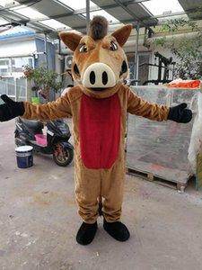 Chaude de haute qualité Real Pictures Deluxe costume de mascotte de sanglier porc livraison gratuite