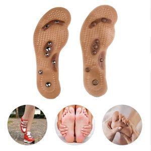 massaggiatore piedi Magnetic Foot Therapy Thener Massage Pads Clean Salute Dolore Agopuntura solette di scarpe tappeto Cura Pad