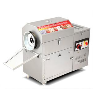 Machine rotative de torréfaction de noix de cajou d'arachide de rôtissoire de tambour rotatoire d'acier inoxydable de 3700W